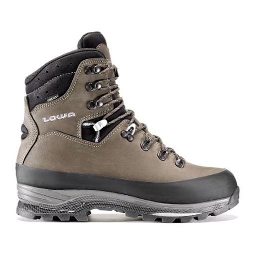 LOWA This workhorse of a boot is a cult favorite among hard core hikers and backpackers. Its super stable design is perfect for carrying heavy loads over rugged terrain.