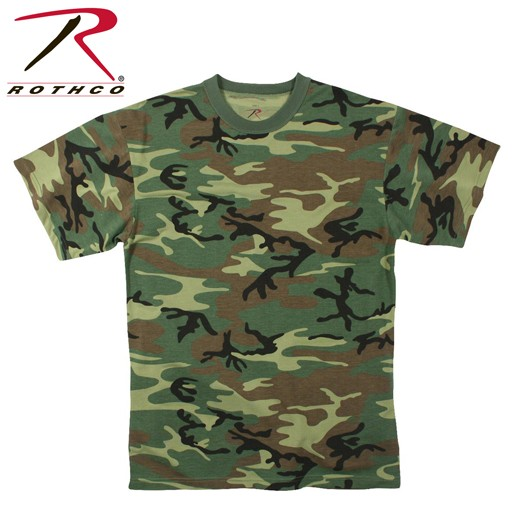 ROTHCO Rothco, Moisture Wicking T-Shirt, Woodland