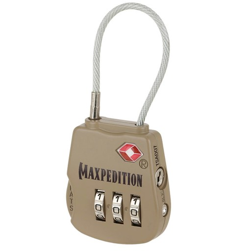 MAXPEDITION Maxpedition, Tactical Luggage Lock