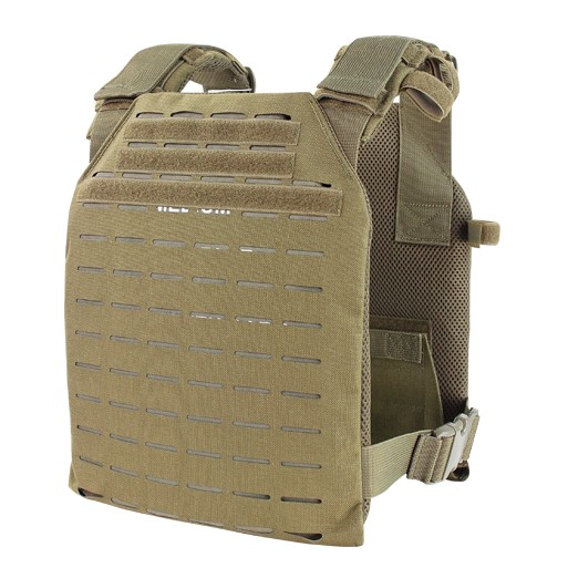 The Condor Sentry Plate Carrier is the update of our classic Compact Plate Carrier. Employing the new Laser Cut System, the LCS Sentry is 30% lighter than its traditional MOLLE counterpart. With a more comfortable performance fit while holding standard pl