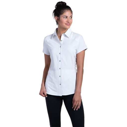 KUHL Kuhl, Women's Wunderer Short Sleeve Shirt