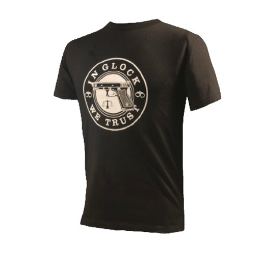 World Famous, T-Shirt, In Glock We Trust