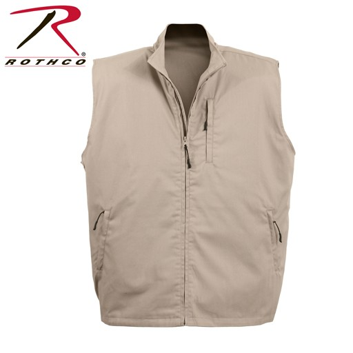 ROTHCO Rothco, Undercover Travel Vest, Khaki