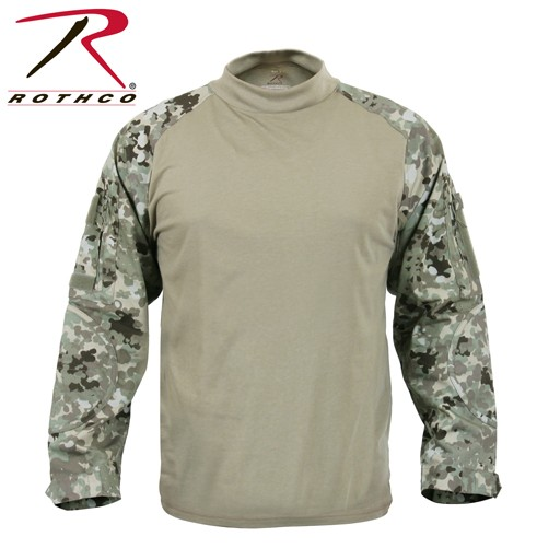 ROTHCO Rothc Military FR NYCO, Combat Shirt, Total Terrain