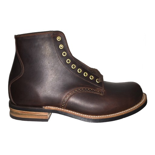 CANADA WEST BOOTS Canada West Boot, WM, MoorbyBrown Buffalo Leather, Dress Boot