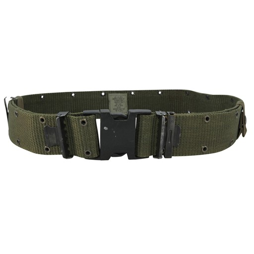 GENUINE SURPLUS US Issue, Nylon Pistol Belt, Brand New, Olive Drab