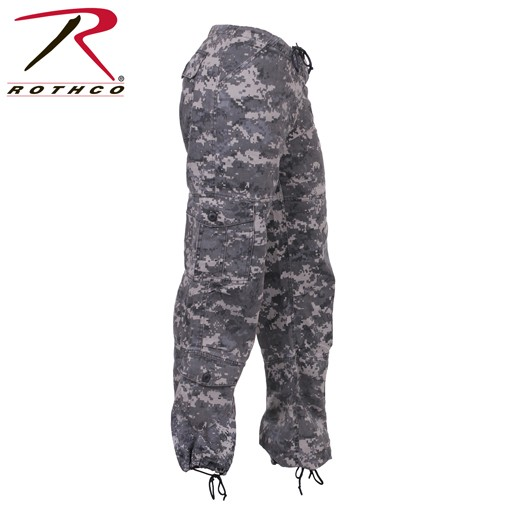 ROTHCO Rothco, Women's Vintage Paratrooper Fatigue Pants, Subdued Urban Digital