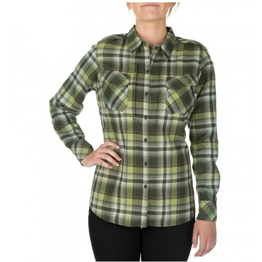 5.11 TACTICAL 5.11 Tactical, Women's HeartBreaker Flannel Shirt, Swamp