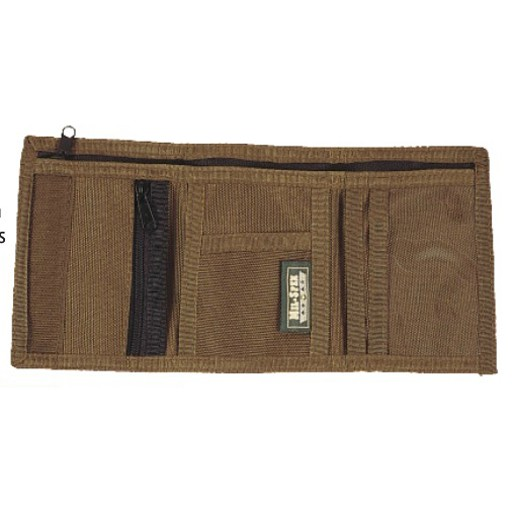 World Famous Mil-Spex, Zipper Trifold Wallet