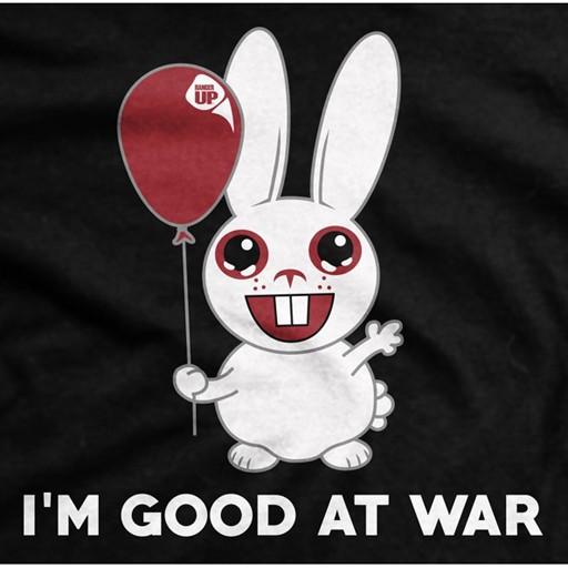 RANGER UP Ranger Up, I Am Good At War, Ultra-Thin Vintage T-Shirt