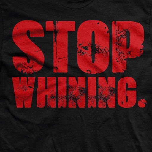 RANGER UP Ranger Up, Stop Whining, Normal Fit T-Shirt