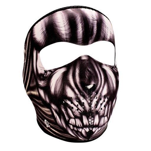 ZAN ZAN Headgear, Neoprene Full Mask, Ancient Skull