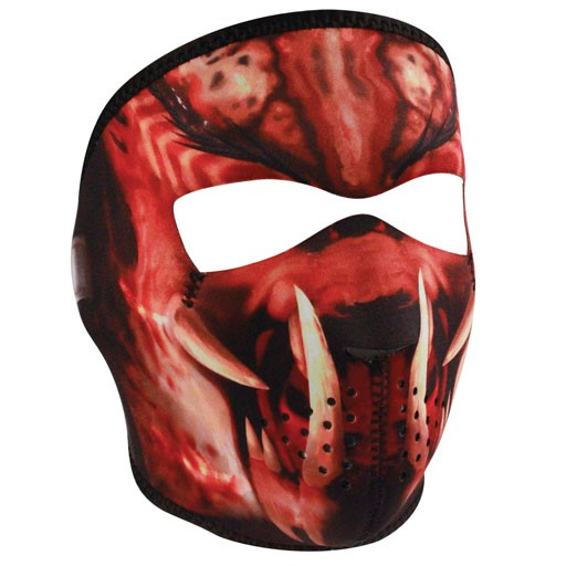 ZAN ZAN Headgear, Neoprene Full Mask, Slayer Masked Reverses to Unmasked