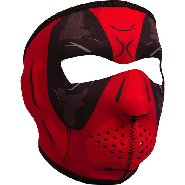 ZAN ZAN Headgear, Neoprene Full Mask, Red Dawn