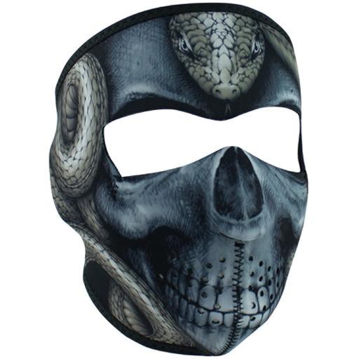 ZAN ZAN Headgear, Neoprene Full Mask, Snake Skull
