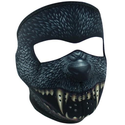 ZAN ZAN Headgear, Neoprene Full Mask, Silver Bullet