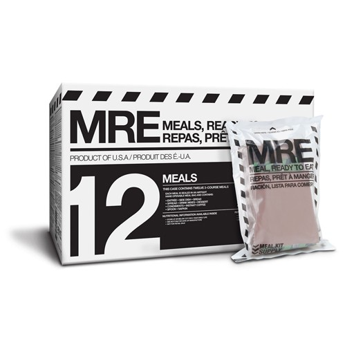 Ration - Meals Ready to Eat - [MRE] Individual Meal Kit
