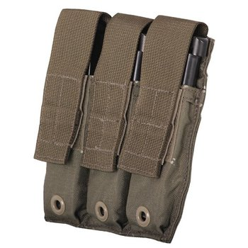 FIRSTSPEAR FirstSpear, Pistol Magazine Pocket, Triple, 6/12