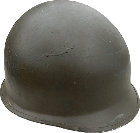 GENUINE SURPLUS Helmet, Belguim M-1, c/w DPM Cover & Helmet Band, Geniune Surplus, New
