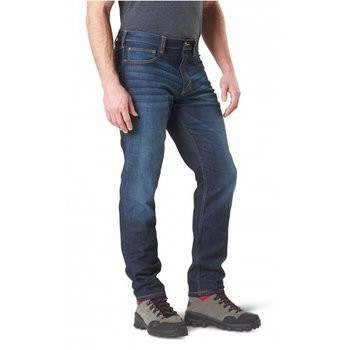 5.11 TACTICAL 5.11 Tactical, Defender-Flex Slim Jean, Dark Wash Indigo