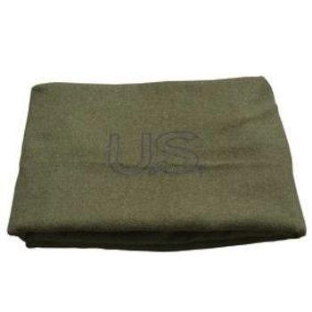 GENUINE SURPLUS Blanket - Wool - US Issue - Olive