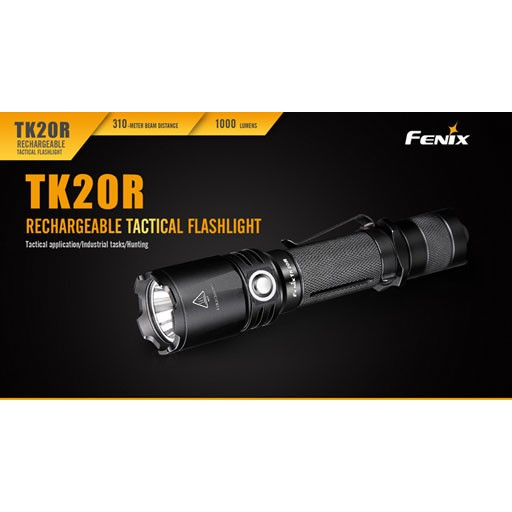 FENIX Fenix, TK20R Rechargeable 1000 Lumen Flashlight