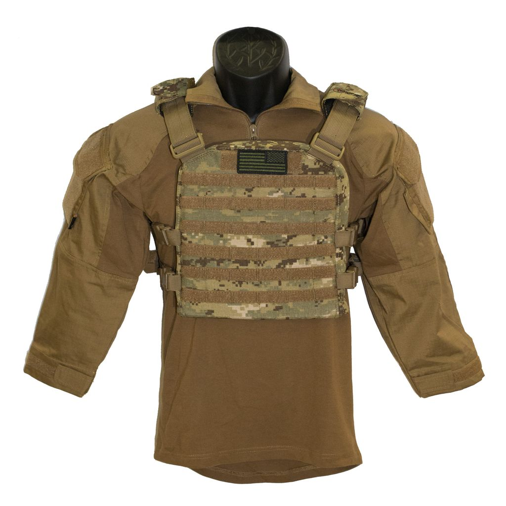TROOPER CLOTHING Trooper Clothing NWU Plate Carrier