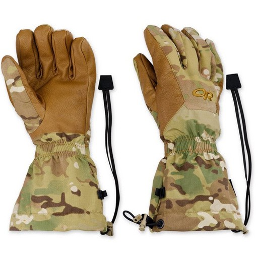 OUTDOOR RESEARCH Outdoor Research Men's US Super Couloir Glove Shells - Model #243343 -Multicam - Size 2X