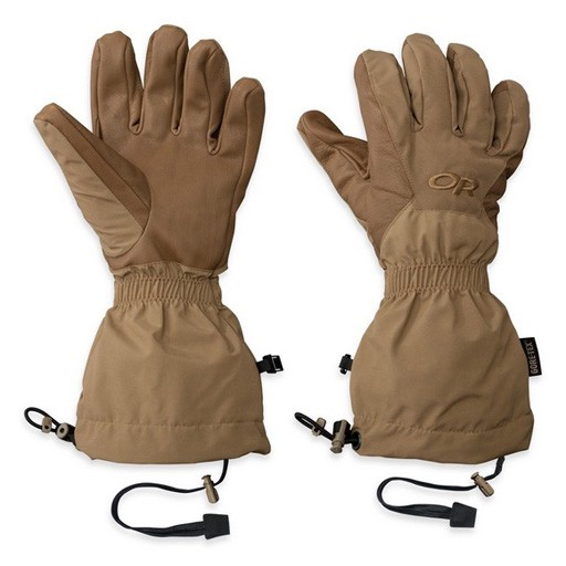OUTDOOR RESEARCH Outdoor Research Men's US Super Couloir Glove Shells - Model #73185 - Coyote - Size 2X