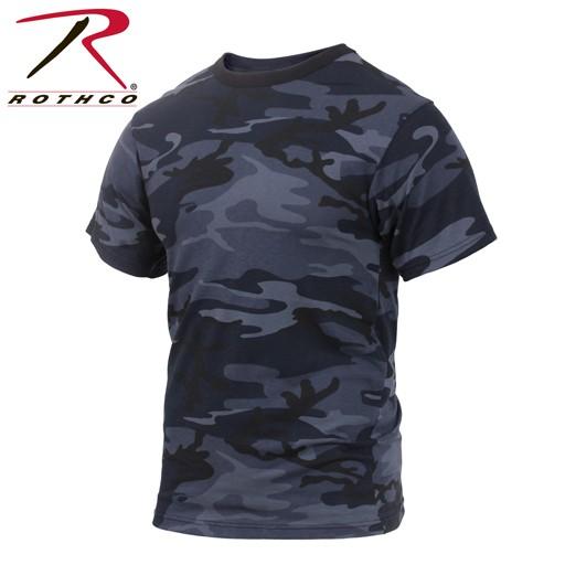 ROTHCO Rothco Midnight Blue Camo T-Shirt