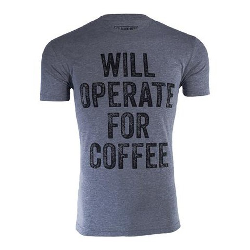 BLACK RIFLE COFFEE Black Rifle Coffee, Will Operate for Coffee Shirt