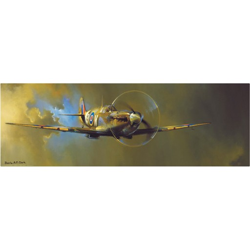 EUROGRAPHICS Poster, Spitfire, Barrie A.F Clark
