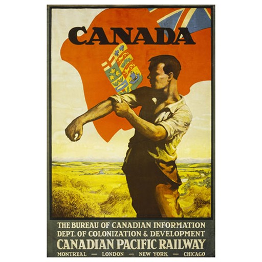 EUROGRAPHICS Poster, Canada Dept. of Colonization and Development (Canadian Pacific)