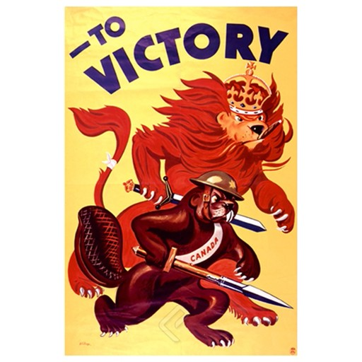 EUROGRAPHICS Poster, War Bonds to Victory