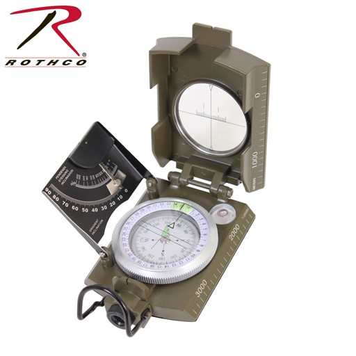 ROTHCO Rothco, Deluxe Marching Compass
