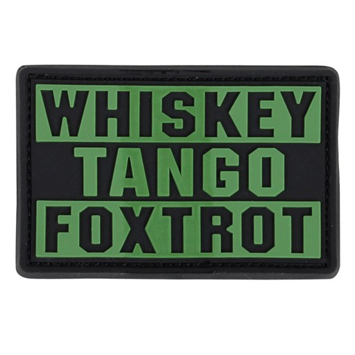 CONDOR Condor Outdoor, Whiskey Tango Foxtrot Patch