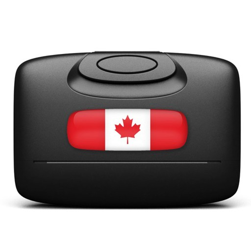 Capsul, Model C-01 Wallet, Canadian Flag
