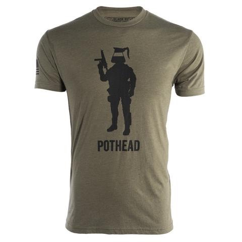 BLACK RIFLE COFFEE Black Rifle Coffee, Pot Head,<br />  Tee Shirt,