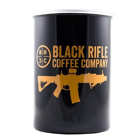 BLACK RIFLE COFFEE Black Rifle Coffee, Container Air Tight, Gold, No Shake