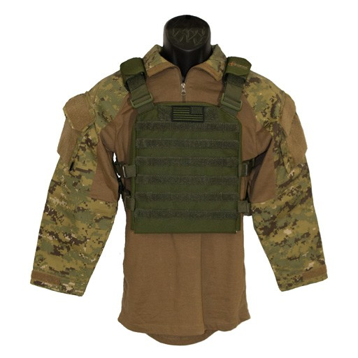 TROOPER CLOTHING Trooper Clothing Coyote Plate Carrier