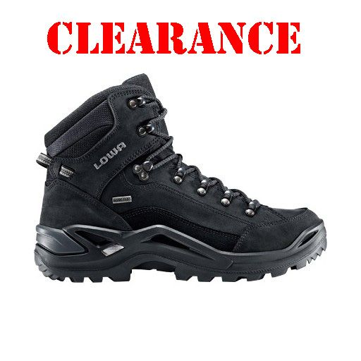LOWA LOWA, Renegade, GTX MID TF, Boots Black