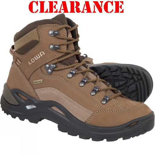 LOWA LOWA, Renegade, GTX MID, Boots Taupe/Sepia, Women's