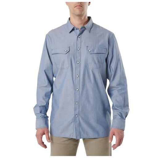 5.11 TACTICAL 5.11 Tactical, Buckshot Chambray Shirt