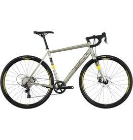 Salsa Salsa Warbird Aluminum Apex 1 Bike, 55cm, Matte Gray