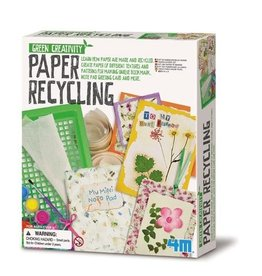 4M 4M Green Creativity Paper Recycling Kit