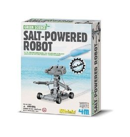 4M 4M Green Science Salt-Powered Robot