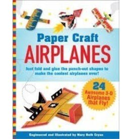 Peter Pauper Press Airplanes Paper Craft,24 Awesome 3-D Airplanes that Fly!
