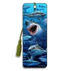 Artgame Artgame 3D Bookmark , Wish You Were Here, 1 shark