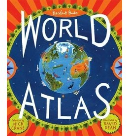 Barefoot Books Barefoot Books World Atlas with World Map Poster