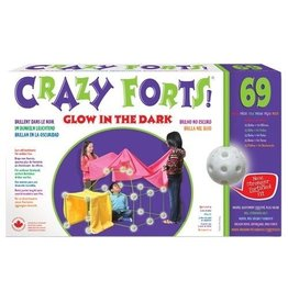 Crazy Fort Crazy Forts 69 pcs Glow in the Dark